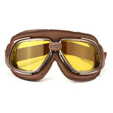 Motorcycle Bike Racing Scooter Pilot Kask Gogle Okulary Wiatroodporna