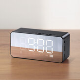 USAMS US-YX007 BT 5.0 Multi-functional Alarm Clock Wireless Speaker Support BT 5.0/TF Card/AUX Play Mode
