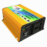 DC 12V to AC 220V Power Inverter Modified Sine Wave USB Charger Boat Car 600W Converter