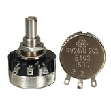 3pcs RV24YN20S B103 10K Single Ring Carbon Film Potentiometer 2W 20000rpm