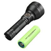 Lampe de poche Astrolux® FT03 XHP50.2/SST40 4300lm 875m LED avec 26800 Batterie 6800mAh 3C Power Li-ion Batterie USB-C rechargeable grande capacité longue durée de vie torche puissante