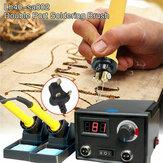 110V 220V Burning Machine Wood Burner Pyrography Pen Gourd Wood Crafts Tool Kit