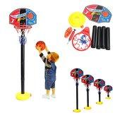 Портативные малышей детей регулируемые баскетбол крытый игры на свежем воздухе чистый обруча комплект 115 см