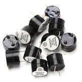 10pcs 12V Active Buzzer Electromagnétique SOT Tube Scellé En Plastique Long Son 12mmx9.5mm