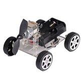 Mini Wind Coche DIY Puzzle Robot Kit para principiantes y niños