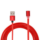 Bakeey 2.4A LED Light Type C Micro USB Fast Charging Magnetic Data Cable For Huawei P30 Pro Mate 30 Xiaomi Mi10 Redmi K30 S20 5G