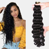 9 Colors Crochet Box Braids Hair Bundles Chemical Fiber Little Braid Ponytail Hair Ring