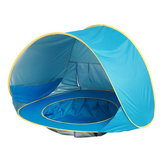 Baby Beach Tent UV-protecting Sunshelter with Pool Waterproof Pop Up Awning Outdoor Camping Sunshade