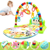 Tocar Piano Musical Lullaby Baby Atividade Playmat Academia Toy Soft Baby Play Mat