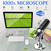 Wifi Electronic Handheld Portable Digital Beauty Electronic Repair Optical Microscopes 8 LED Bracket Support Phones/ Tablets