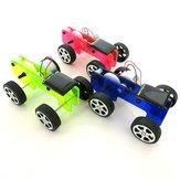 DIY Zonne-energie Auto-natuurkunde Experiment Wetenschap en technologie Puzzel speelgoedset