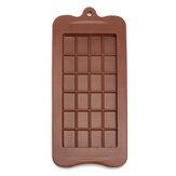 Chocolate Mold Mould Bar Break Apart Choc Block Ice Tray Silicone Cake Baking Mold