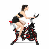 Bicicleta aeróbica multifuncional LED Display de cardio-treino Bicicleta doméstica de ciclismo Bicicleta de rotação para serviço pesado interno Aptidão Equipamento