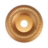 110mm 22mm Bore Carbide Wood Sanding Carving Shaping Disc Wood Angle Grinding Wheel for Angle Grinder