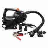 12 V 100 W Araba Elektrikli Şişirme Hava Pompa için Şişme Kayık Bot Yüzme Havuz 4KPA-5KPA