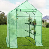 143x143x195CM PE Cloth Cover Greenhouse Tent Flowers Green Plant Insulation Family Insulation Canopy for Garden House Succulent Plants