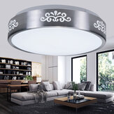 AC110-240V 12W LED Recessed Ceiling Light Modern Round Mount Lamp for Bedroom Study Living Room