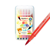 AIHAO CP600 Watercolor Paint Set Washable Soft Head Double Head