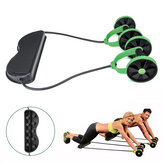 Multifunction Fitness Equipment Ab Roller Pedal Sit-up Pull Rope Training Muscle Abdominal Exercise Tools