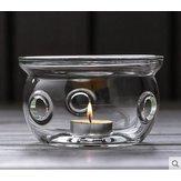 Zagęszczony żaroodporny zestaw do herbaty szklany czajniczek podgrzewacz izolacyjny podstawa grzewcza Podgrzewacz do ciepłej herbaty