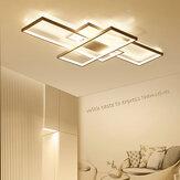 ARILUX AC110-120V Современный минималистский скандинавский стиль Прямоугольный LED Потолочный светильник Спальня Гостиная Столовая Потолок Лампа