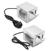 110V/220V 120KG Stainless Steel BBQ Motor Pig Chicken Grill Electric Rotisserie Roaster