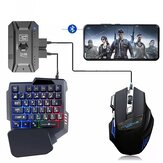 M1PRO Mobiele Controller Gaming Toetsenbord Muis Converter Adapter PUBG Mobiele Controller Gamepad Bluetooth 5.0 voor Android IOS Systeem