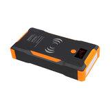18000mAh Авто Аварийный стартер 12V 1500A Многофункциональный зарядное устройство для беспроводной зарядки с фонариком LED