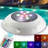 9W RGB Remote Control LED Swimming Pool Light Underwater Waterproof Night Light Atmostphere Light