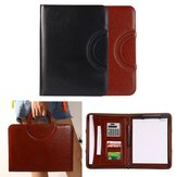Portable A4 Zipper Ring Binder Conference File Folder Document Bag Business Travel Briefcase