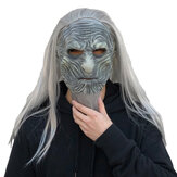 Horror Cosplay Game Zombie Latex Masks With Hair Halloween Party Costume Props