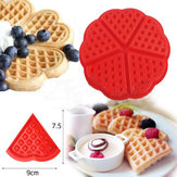 Heart Love Shape Silicone Wafel Mould Mould Cake Baking Mold