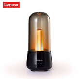 Lenovo Portable Wireless Candle Light With Bluetooth Speaker Outdoor Music-Player TWS Support USB Rechargeable 2000mAH Powerful Adjustable Volume Christmas Gift