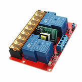 DC 5V AC 100V To 250V 30A 760mA 2 Channel Relay Module Board With High And Low Level