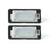 LED License Number Plate Lights Lamps Bulbs CANBUS Error Free Pair for BMW E39 E60 E82 E70 E90 E92 X3/5/6