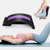 Equipamento de estiramento Massager traseiro Maca Mágica Aptidão Trator lombar de relaxamento de apoio lombar
