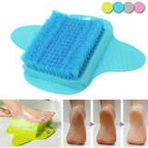 Honana BB-064 Bath Foot Cleaner Scrub Escova Exfoliating Feet Scrubber Washer Spa Shower Clean Escova