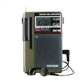 TECSUN R-818 FM MW SW-Radio Dual Conversion World Band Radioempfänger mit integriertem Lautsprecher Internetradio Portatil