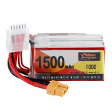 ZOP Power 18.5V 1500mAh 100C 5S Lipo Батарея XT60 Разъем для RC Racing Дрон