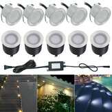 10x 32MMLED Deck Stair Light Waterproof Yard Garden Pathway Patio Landscape Lamp