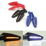 Motor Bike LED Handguards Luci girevoli di giorno in raddrizzate modificate