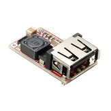Modul Buck DC-DC 6-24V 12V / 24V hingga 5V 3A USB Step Down Power Supply Efisiensi Pengisi Daya 97,5%