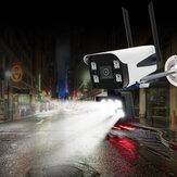 GUUDGO 10LED 1080P Drahtlose Sicherheit IP Kamera WiFi Kamera Nachtsicht Vollfarbe Außen IP66 Wasserdichtes ONVIF