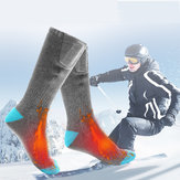 Outdoor Sports Bike Skiing Socks Rechargeable Battery Electric Heated Socks Winter Boot Feet Warmer