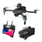 XMR / C M10 GPS 5G WIFI FPV 6K HD kamerával 3-tengelyes EIS mechanikus gimbal négyirányú lézeres akadályok elkerülése, kefe nélküli, összecsukható RC drón Quadcopter RTF