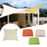 3m Sun Shade Sail Pano Shadecloth Outdoor Canopy Patio Square Cover UV Block