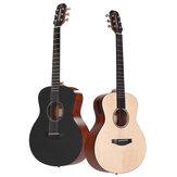 Poputar T1 36 Inch Guitarra inteligente con aplicación gratuita controlada luz LED Bluetooth 5.0BLE Connect para todos
