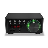HiFi Mini Digital Amplifier bluetooth 5.0 Amplifier RCA Stereo Sound TF Card U Disk AUX Lossless Sound Powerful Digital Amplifier for TV Computer