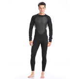 3mm Men Wetsuits Super Stretch Full Body Diving Suit Adjustable Snorkeling Swimming Long Sleeve
