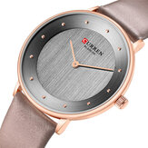 CURREN 9033 Ultra Thin Dial Case Casual Style Quartz Watch